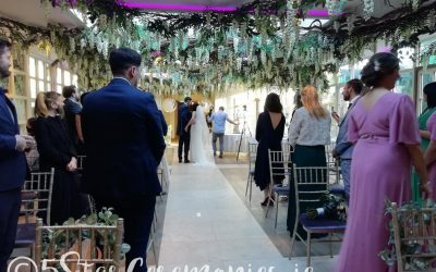 Surprise Announcement!  100 Guests At Weddings from August 5th